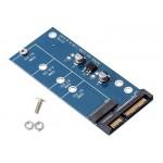 POWERTECH Converter SATA 22pin σε M.2 SSD TOOL-0019, 2230/2242/2260/2280
