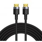 BASEUS καλώδιο HDMI 2.0 CADKLF-H01, 4k, 18Gbps, μαύρο, 5m