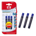 MP ανταλλακτικά μελάνια PE497-3 για μαρκαδόρο PE496, μπλε, 3τμχ