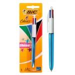 BIC στυλό διαρκείας 4 Colours με μύτη 1mm, μπλε