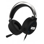 AULA gaming headset Mountain S603, RGB, USB/3.5mm, 50mm, μαύρο