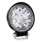 AMIO LED προβολέας AWL06, στρογγυλός, 2200lm, IP67, 27W, 9-36V