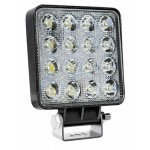 AMIO LED προβολέας AWL10, τετράγωνος, 3800lm, IP67, 48W, 9-36V
