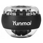 YUNMAI περιστροφικό μπαλάκι καρπού YMGB-Z701, μαύρο