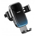 BASEUS βάση smartphone για αυτοκίνητο Glaze Gravity SUYL-LG01, μαύρη
