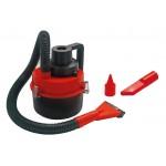 AMIO ηλεκτρική σκούπα αυτοκινήτου 02381, 93W, 12V, κόκκινο/μαύρο
