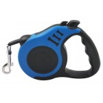 Λουράκι σκύλου TMV-0046, με ιμάντα & stop, 5m, μπλε