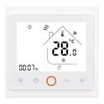 Smart θερμοστάτης πετρελαίου BHT-002-GBLW, WiFi, λευκός