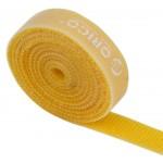 ORICO ταινία τύπου Velcro πολλαπλών χρήσεων CBT-1S, 15mm, 1m, κίτρινη