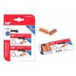 MP ανταλλακτικά συρραπτικού 24/6 PA140Q, copper plated, 2x 1000τμχ