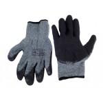AMIO Αντιολισθητικά γάντια εργασίας DRAGON REK8, γκρι-μαύρο