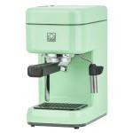 BRIEL μηχανή espresso B14S, 20 bar, πράσινη, 10 χρόνια εγγύηση