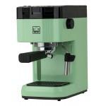 BRIEL μηχανή espresso B15, 20 bar, πράσινη, 10 χρόνια εγγύηση