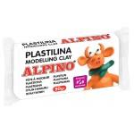 ALPINO πλαστελίνη 088DP00005601, χωρίς γλουτένη, 50γρ, λευκή