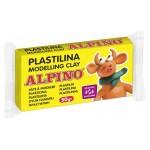 ALPINO πλαστελίνη 088DP00005701, χωρίς γλουτένη, 50γρ, κίτρινη