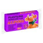 ALPINO πλαστελίνη 088DP00006001, χωρίς γλουτένη, 50γρ, μωβ