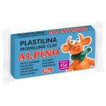 ALPINO πλαστελίνη 088DP00006101, χωρίς γλουτένη, 50γρ, μπλε