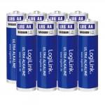 Battery AA Alkaline Logilink LR6F8 8pcs