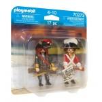 Playmobil Duo Pack Πειρατής και Λιμενοφύλακας **