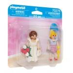 Playmobil Duo Pack Νύφη και μοδίστρα