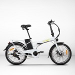 EGOBOO E-Bike E-Fold - Άσπρο