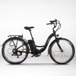 EGOBOO E-Bike E-City - Μαύρο