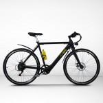 EGOBOO E-Bike E-Treck - Μαύρο