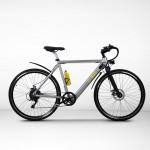 EGOBOO E-Bike E-Treck - Aσημί