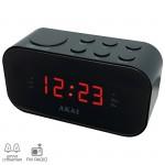 Akai ACR-3088 Ψηφιακό ξυπνητήρι με ραδιόφωνο και διπλή αφύπνιση