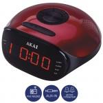 Akai ACR-267 Ψηφιακό ξυπνητήρι με Aux-In, Ραδιόφωνο και διπλή αφύπνιση