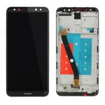 HUAWEI MATE 10 LITE ΟΘΟΝΗ + TOUCH SCREEN + LENS + FRAME BLACK REF. OR