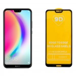 "IDOL 1991 TEMPERED GLASS HUAWEI P20 LITE 5.84"" 9H 0.25mm 9D FULL GLUE SPECIAL FULL COVER BLACK"