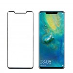 "IDOL 1991 TEMPERED GLASS HUAWEI MATE 20 PRO 6.39"" 9H 0.30mm 3D SEMI CURVED BLACK OPEN NOTCH"