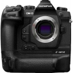 Olympus OM-D E-M1X  body black, Flash FL-LM3, BLH-1, BCH-1, USB Cable CB-USB11, Cable holder CC-1