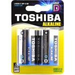 Toshiba Αλκαλική Μπαταρία  LR20 /D BLUE LINE συσκ. 2