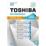 Toshiba Επαναφορτ. Μπαταρία  AA   1950mAh PRE-CHARGED  συσκ. 4