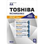 Toshiba Επαναφορτ. Μπαταρία  AA   2250mAh PRE-CHARGED  συσκ. 4