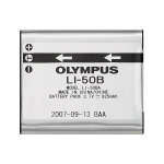 Olympus LI-50B Lithium Ion rechargeable Battery for XZ-10, SZ-17, TG-835/850/860