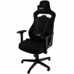 Nitro Concepts E250 Gaming Chair - Quality Fabric & Cold Foam - Stealth Black