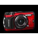 Olympus TG-5 Red Camera + TOUGH Neoprene Case blue