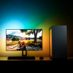 "NZXT Hue 2 Ambient RGB for 21""- 26"" Monitors"