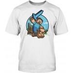 Jinx Minecraft  Pig Riding T-Shirt (XL)