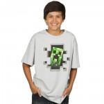 Jinx Minecraft Creeper Inside Youth Tee 11-12 years