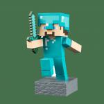 Jinx Minecraft 10cm Diamond Steve Vinyl Adventure Figure