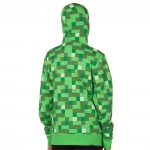 Jinx Minecraft Creeper No Face Zip-up Youth 5-6 Hoodie