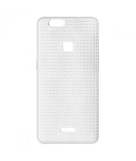 MLS Diamond Fingerprint TS 4G Sparkle Θήκη Σιλικόνης Λευκό