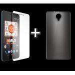"MLS Phab 3G 6.0"" Θήκη Σιλικόνης Μαύρο & Tempered Glass"