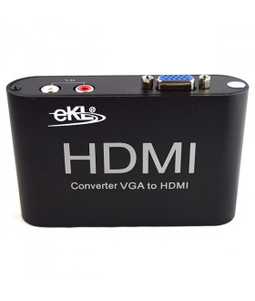 EKL VH Μετατροπέας VGA IN σε HDMI OUT