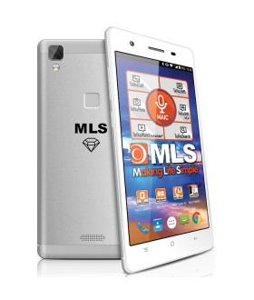 "MLS Diamond Fingerprint C8 5.0"" Amoled 8-Core 3GB RAM 32GB 4G"