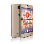 "MLS F5 5.0"" IPS 4-Core 2GB RAM 16GB 3G"